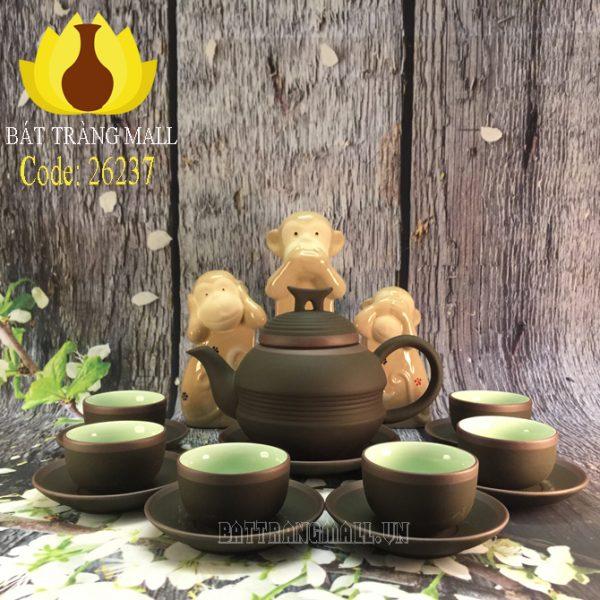 Bộ trà Gốm Tử Sa đai eo