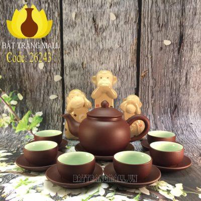 Bộ trà Gốm Tử Sa, dáng Chuông S1